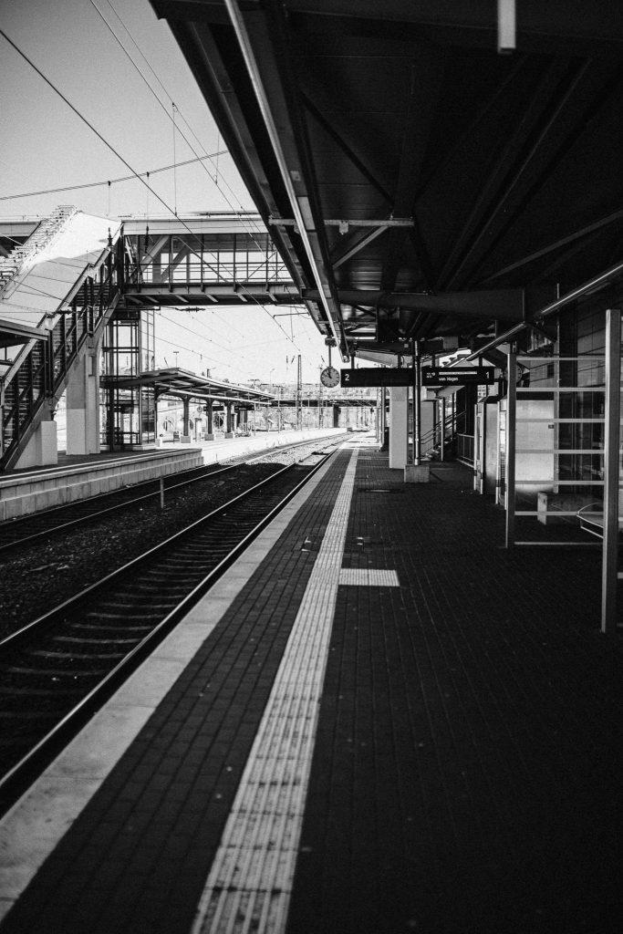 Bahnhof siegen Corona Fotografie