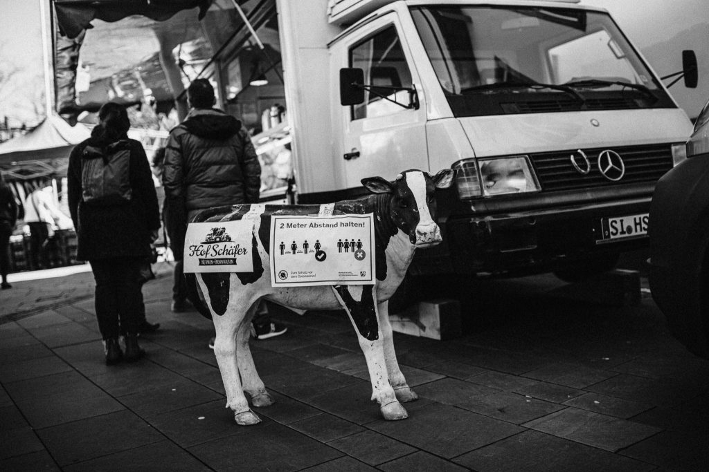 Bauer Markplatz Corona Siegen Streetphotography